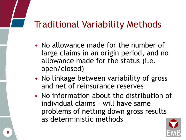 Traditional Variability Methods