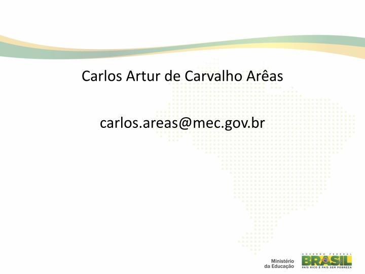 Carlos Artur de Carvalho