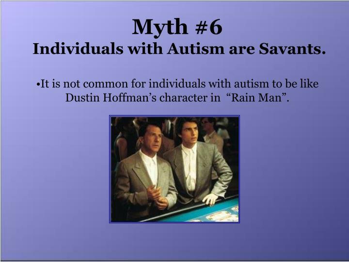 Myth #6