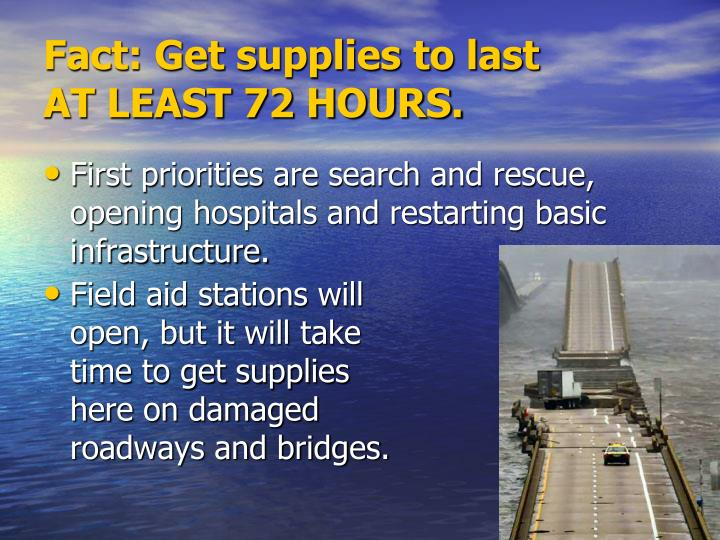 First priorities are search and rescue, opening hospitals and restarting basic infrastructure.
