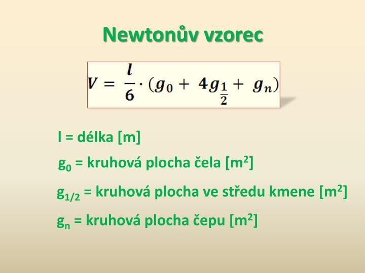 Newtonův vzorec