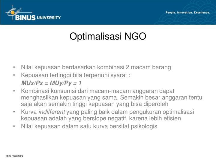 Optimalisasi NGO