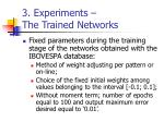 3 experiments the trained networks2