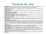 tecnicos de cine