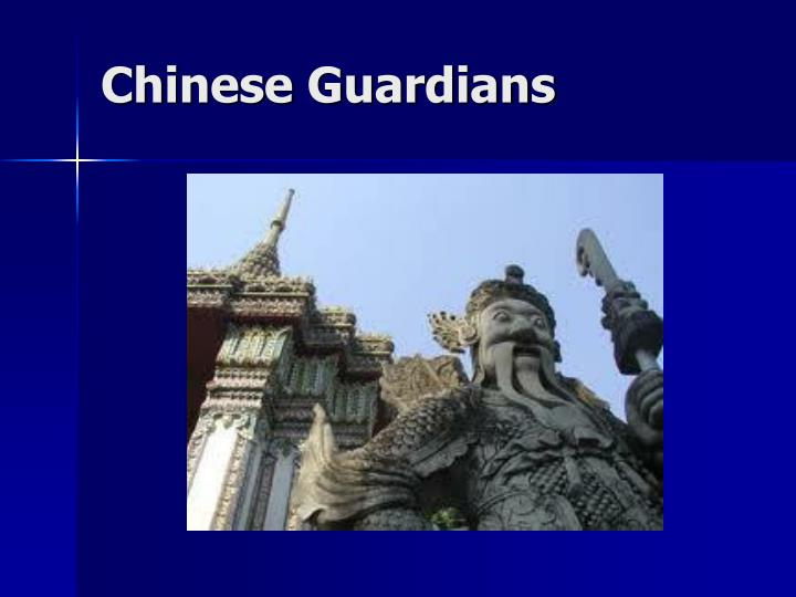 Chinese Guardians