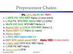preprocessor chains
