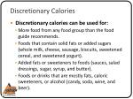 discretionary calories3