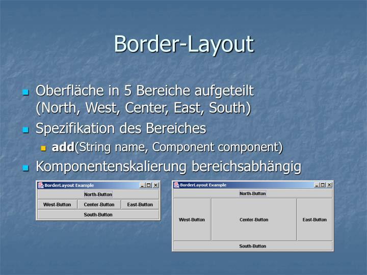 Border-Layout