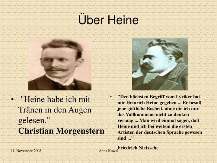 Über Heine