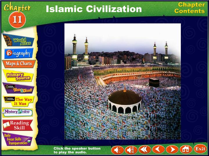 a history of the islamic civilization and its revival -the church became the preserver of civilization and its unifying force in both political and religious life -church entered into feudal contracts and became an extensive landholder at one point, the church owned approx 1/3 of the land.