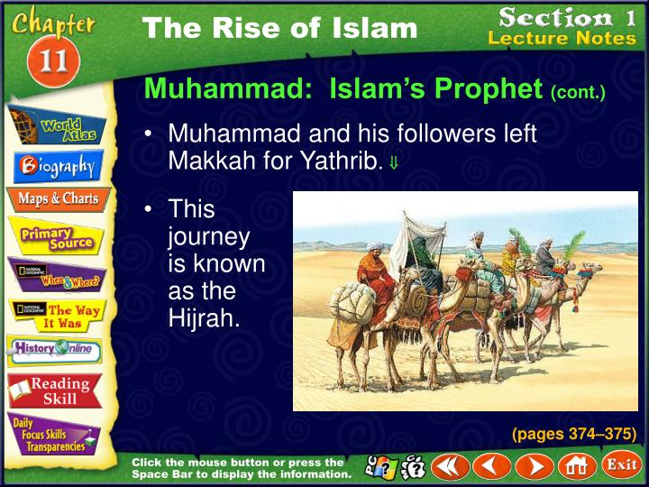 Ppt chapter 11 islamic civilization powerpoint presentation id the rise of islam publicscrutiny Gallery