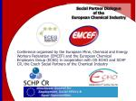 social partner dialogue of the european chemical industry1