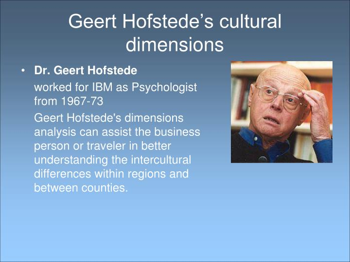 hoefstede The cultural dimensions theory was introduced by hoefstede and includes the individualism/collectivism dimension and the uncertainty vs avoidance dimension.