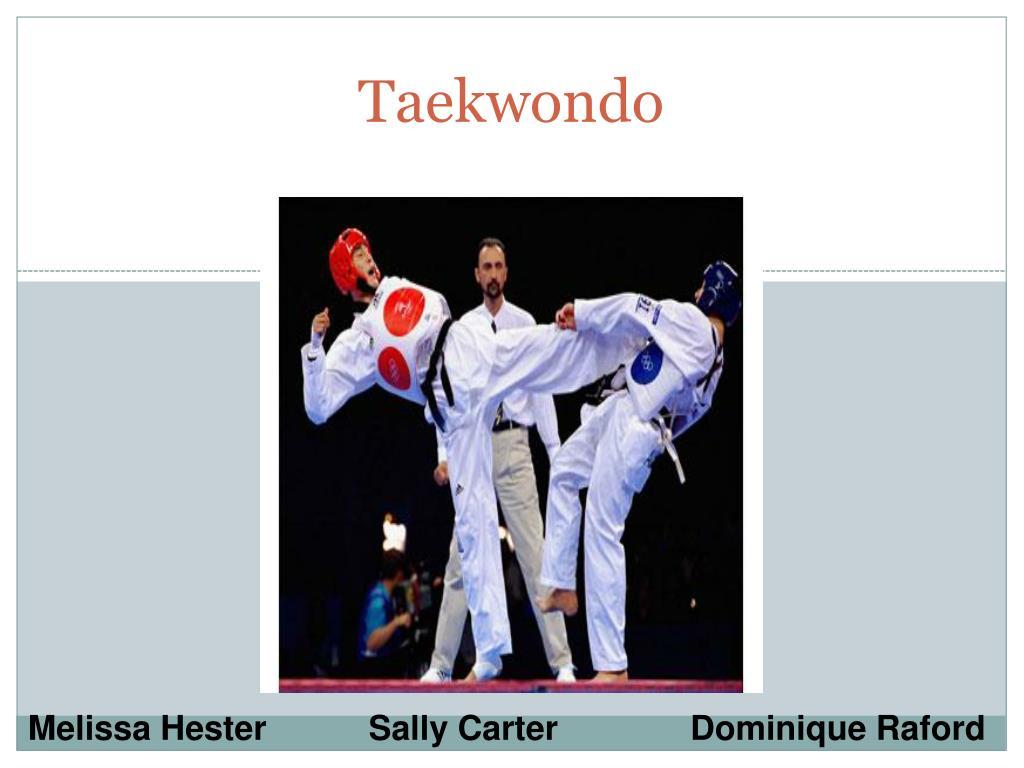 Ppt Taekwondo Powerpoint Presentation Free Download Id 4381998