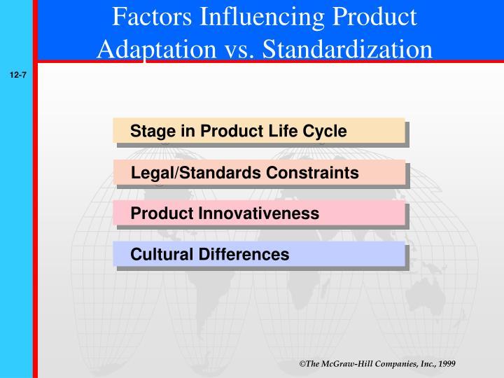 factors influencing production