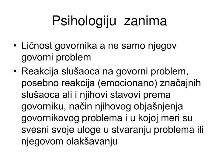 Psihologiju