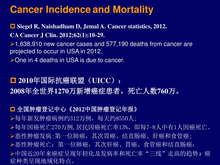 Cancer Incidence