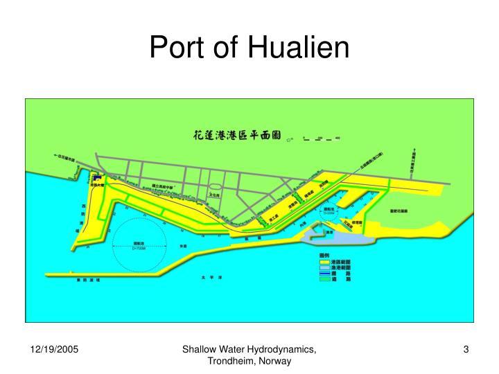 Port of hualien