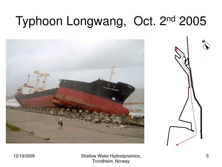 Typhoon Longwang,  Oct. 2