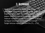 2 keyboard