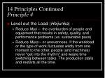 14 principles continued principle 4