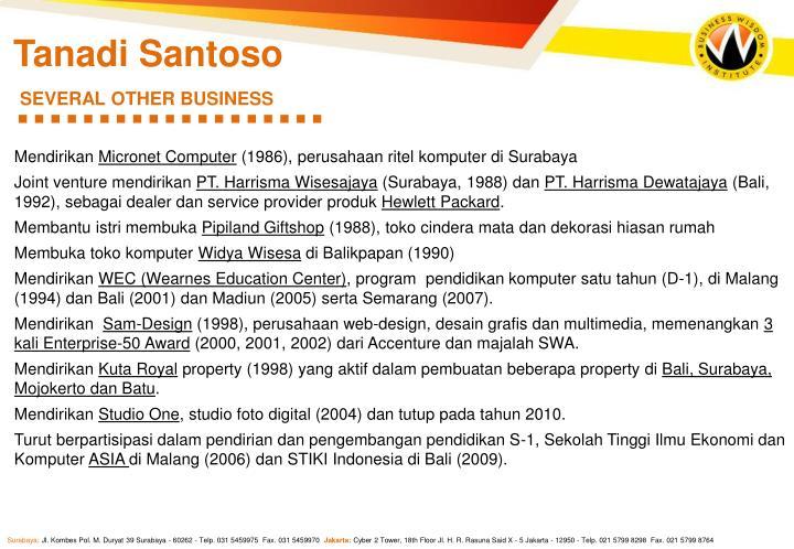 Tanadi Santoso