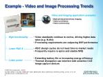 example video and image processing trends