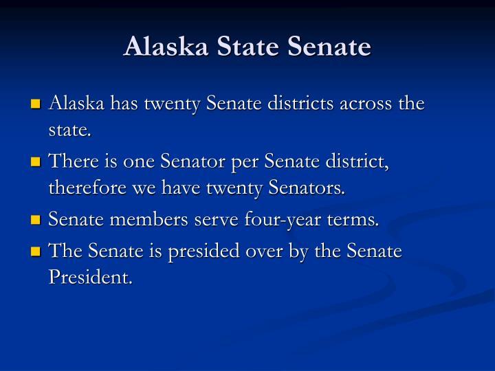 Alaska state senate