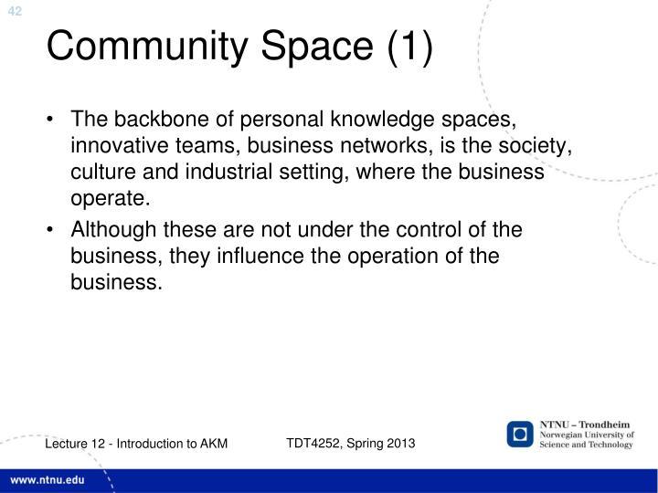 Community Space (1)