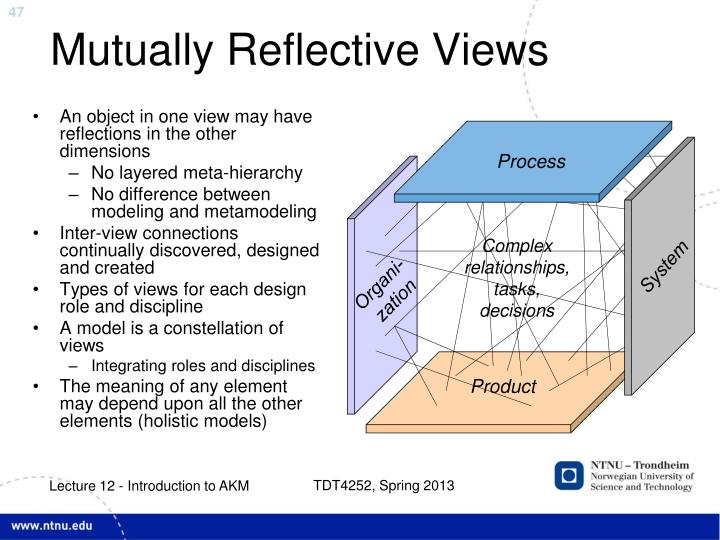 Mutually Reflective Views