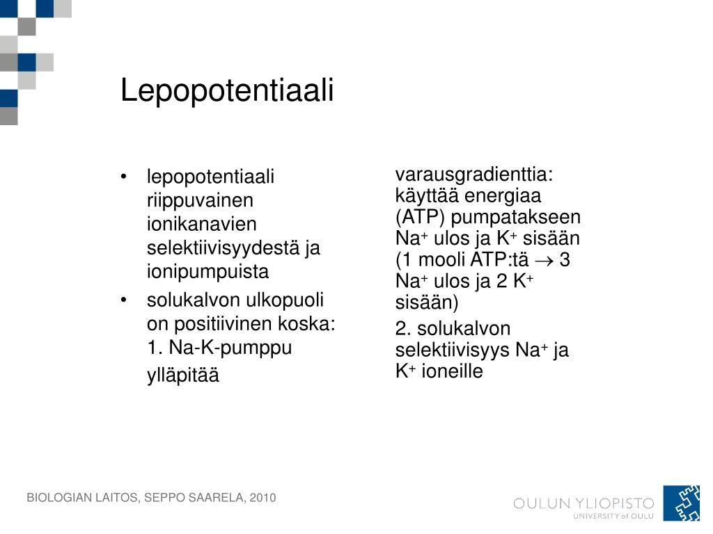 Lepopotentiaali