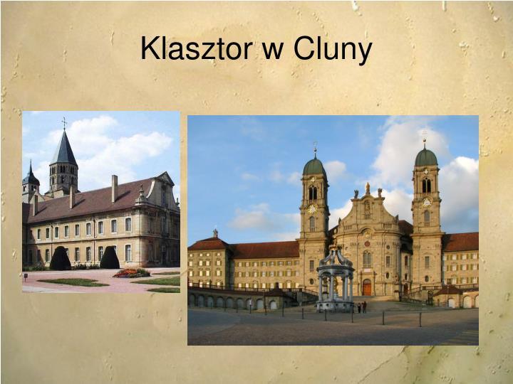 Klasztor w Cluny