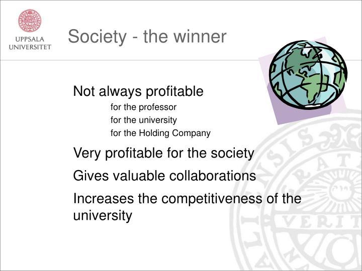 Society - the winner