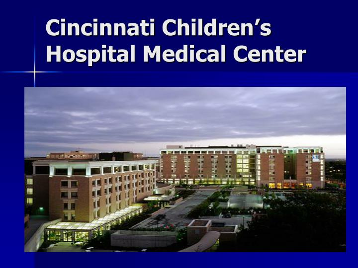 Cincinnati children s hospital medical center