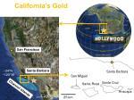 california s gold