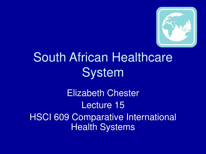south african healthcare system n.