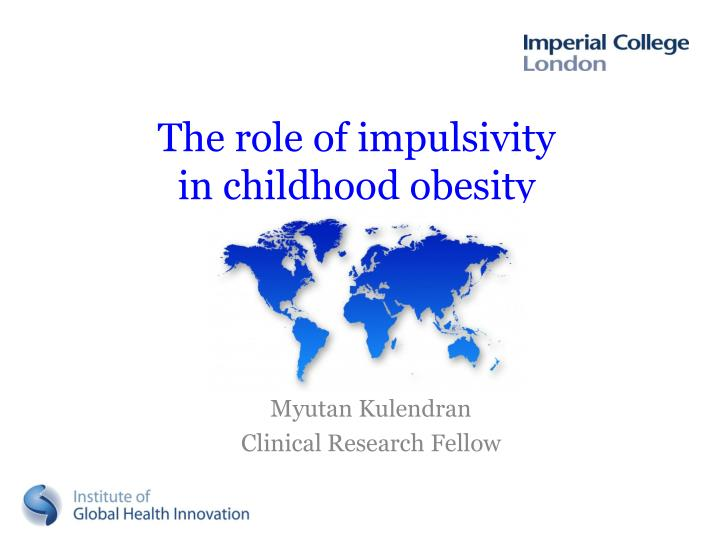 the role of impulsivity in childhood obesity n.