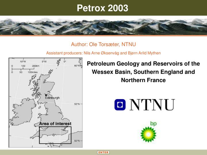 petroleum geology and reservoirs of the wessex basin southern england and northern france n.