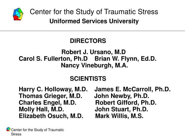 Center for the Study of Traumatic Stress