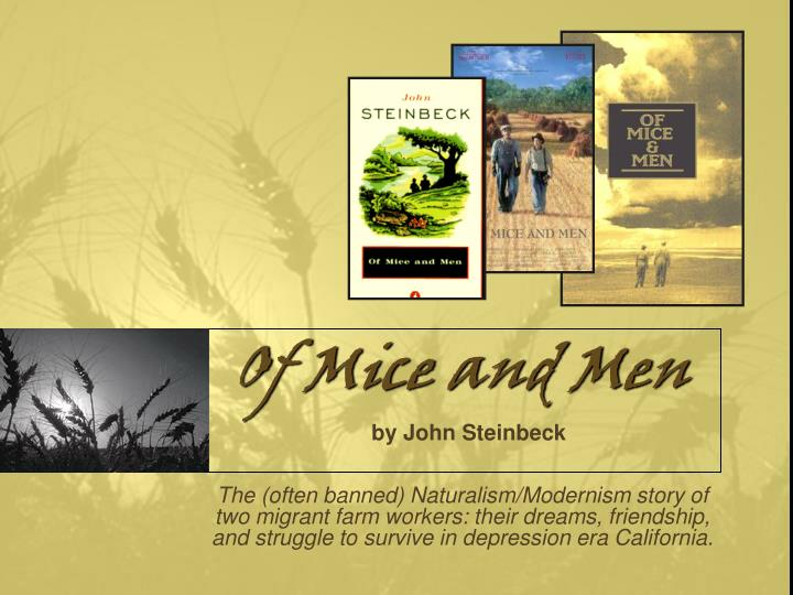 the clash between dreams and reality in of mice and men by john steinbeck Find free of mice and men essays and strive to transform their chimerical dream into a reality of mice and men john steinbeck john steinbeck was born in.