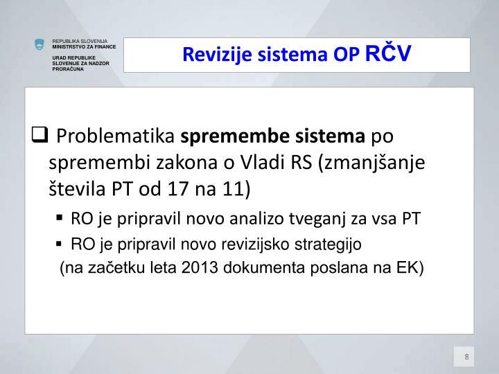 Revizije sistema OP