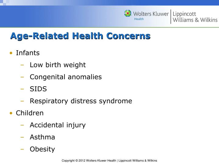 Age-Related Health Concerns