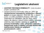 legislativn ukotven