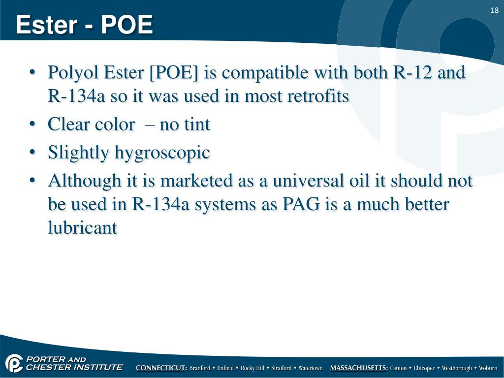 PPT - Refrigerants and refrigerant oil PowerPoint