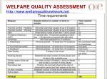 welfare quality assessment http www welfarequalitynetwork net
