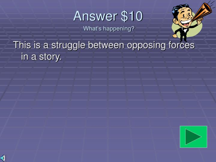 Answer $10