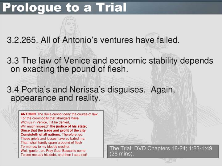 Prologue to a Trial
