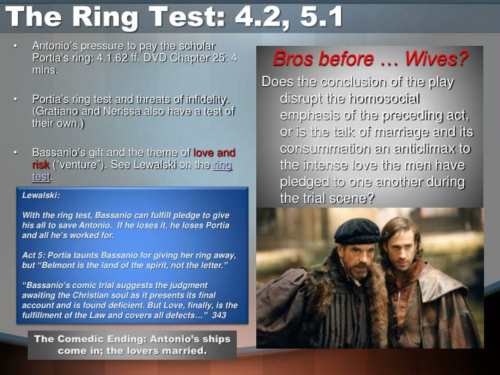 The Ring Test: 4.2, 5.1