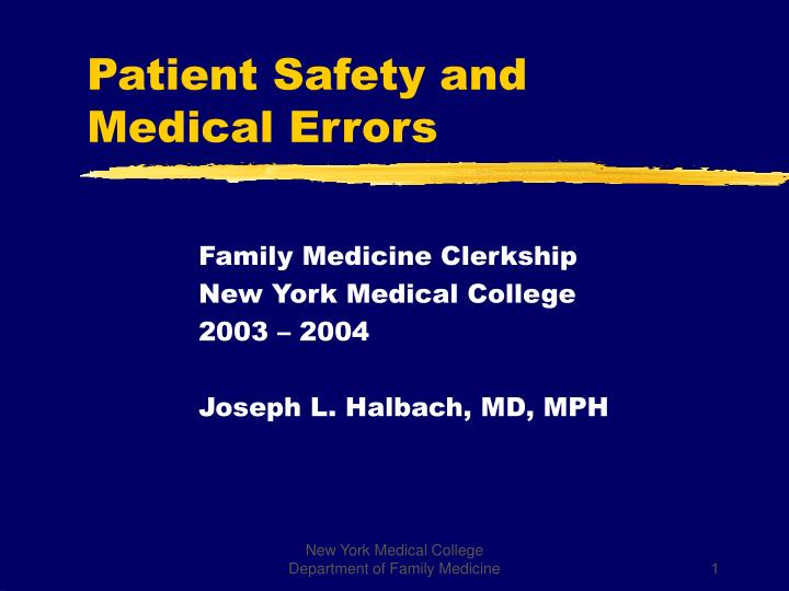 a description of a medical error as an adverse effect that is harmful to a patient Helmed by researchers at johns hopkins university, the paper estimates that medical errors cause 250,000 deaths a year, surpassing chronic lower respiratory diseases—the third leading cause of.