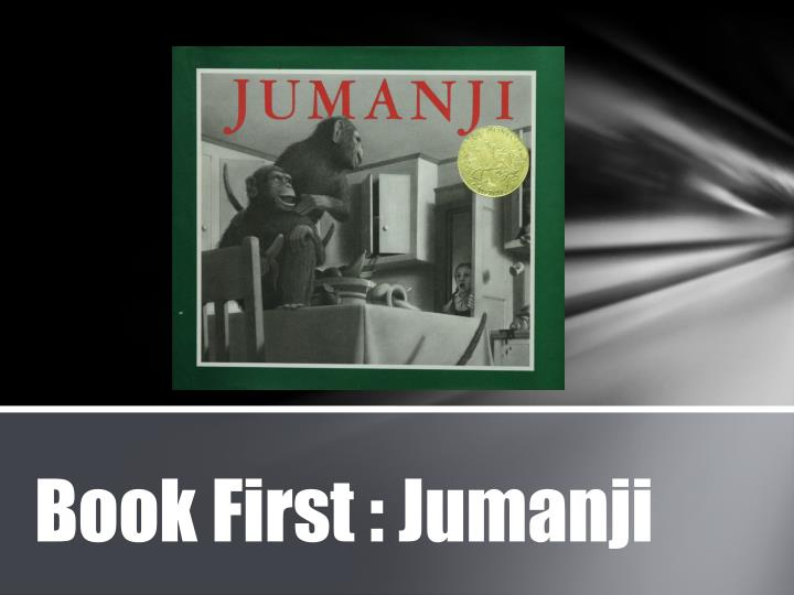 book first jumanji n.